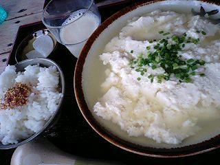 比嘉・ゆし豆腐