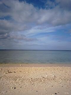 11月の海