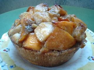 柿とリンゴのタルト