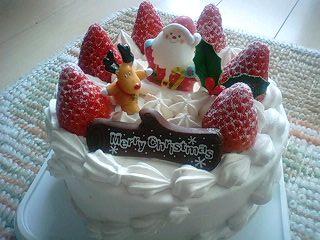 09最後のクリスマスケーキ