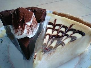 ショコラとチーズ