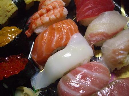 大晦日なんでお寿司