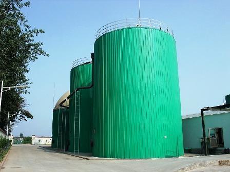 写真3:バイオガス製造プラント
