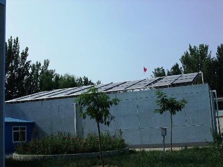 写真4:太陽光発電