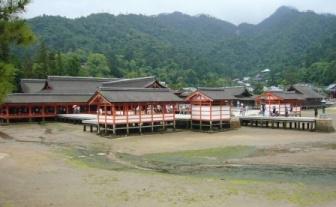 厳島神社!!