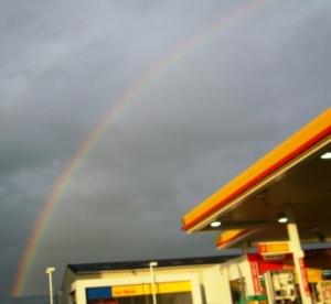 きれいな虹!♪