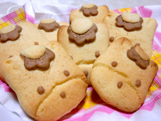 自作ぐんまちゃんクッキー