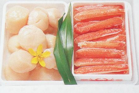 ズワイ棒肉 帆貝柱セット