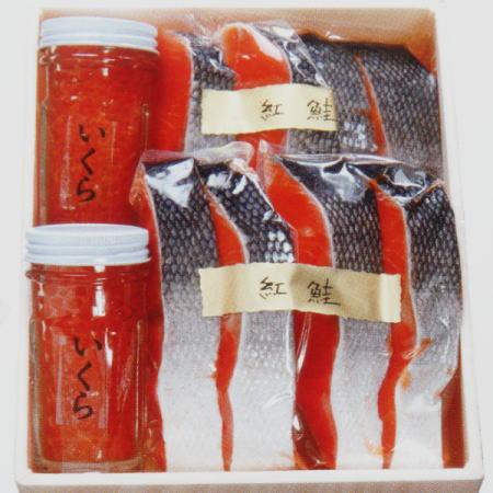 いくら醤油 紅鮭切身セット