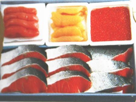 紅鮭切身&魚卵3点セット