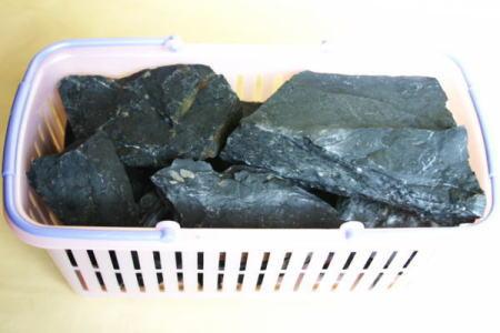 天然鉱石 ブラックシリカ(blacksilica 入浴用)