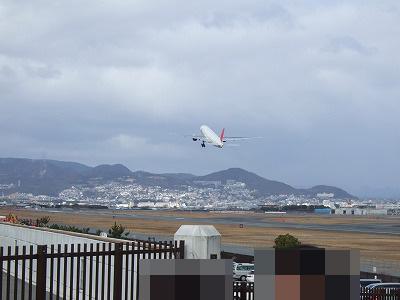JAL離陸その3