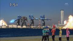 ゴーカイジャー 巨大化×4