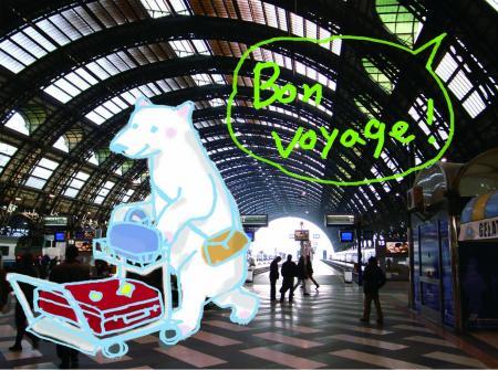 Bon Voyage Bear