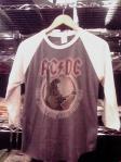 AC/DCツアー'77Tシャツ