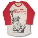 ザ・クラッシュ/ラグラン七分袖Tシャツ