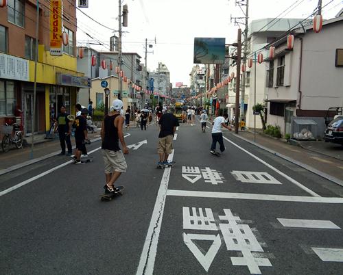 奄美祭りパレードゴー