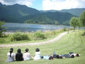ある日の河口湖