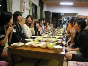 夕食の風景