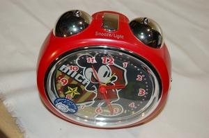 目覚まし時計「ミッキーマウス」