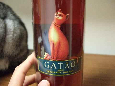 猫ちゃん模様のワイン2