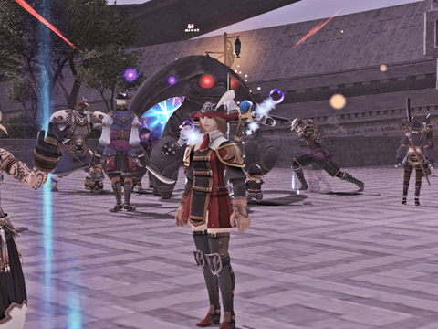 裏ジュノボスは小柄です、上層入口前で戦闘しています!