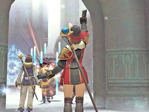 フ・ゾイで最初の護衛の目的地にいる壺を倒します!