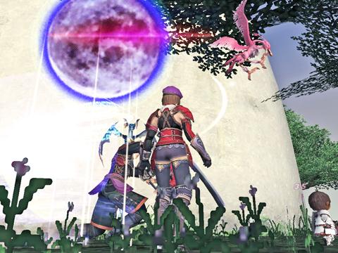 月光だと、お月さまががががががが!樽ナさんどこ向いてるのw