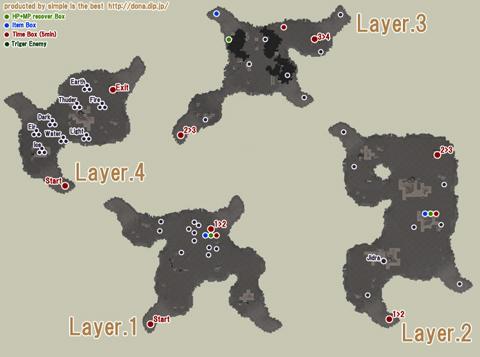 アポリオンSWの地図です・・といっても何もわかりませんね^^;
