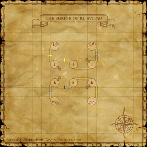 ル・アビタウ神殿の中の地図の一部です^^