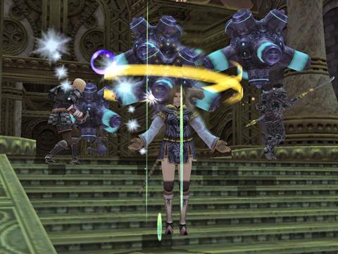 第三層:同時に倒さないとナギアNMです!戦闘場所をかえてみました!