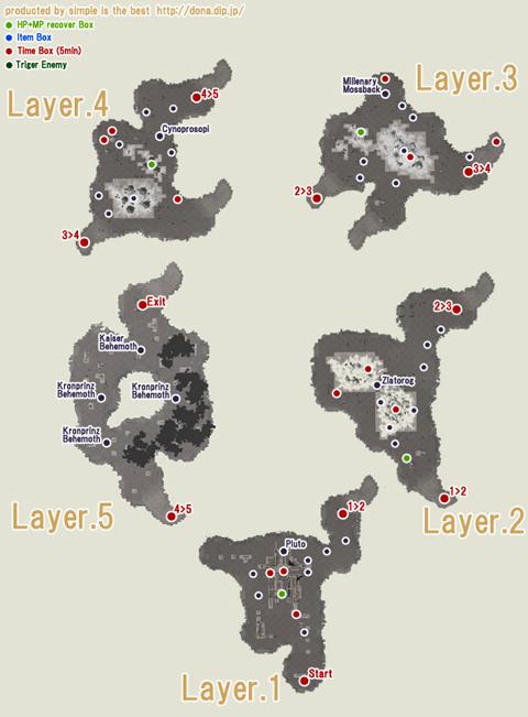 アポリオンNWの地図です・・分かりやすいのか分かりにくいのか・・