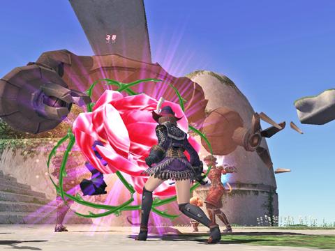 青龍行く前に薔薇の花を咲かせます!まぁ、FoVですけどねw