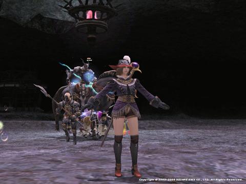 斬鉄剣のあと、精霊撃ってたら、沸いてたヴァルキリーがこちの方にきてどきっ!