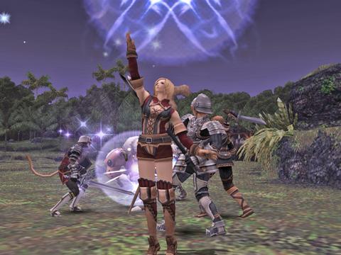 レベル上げ:最初は弓ゴブで、バファイラ!