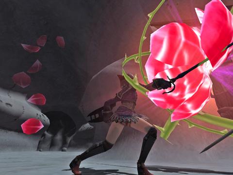 シャドウに薔薇の花を咲かせましょう、ばらばらにしちゃう!