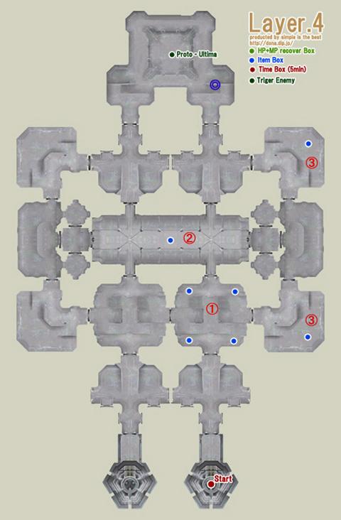 でかいけど、中央塔4階地図です!