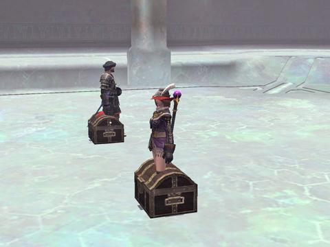第七層:闇エレ2匹を倒した後、どっちの箱を開けたい?