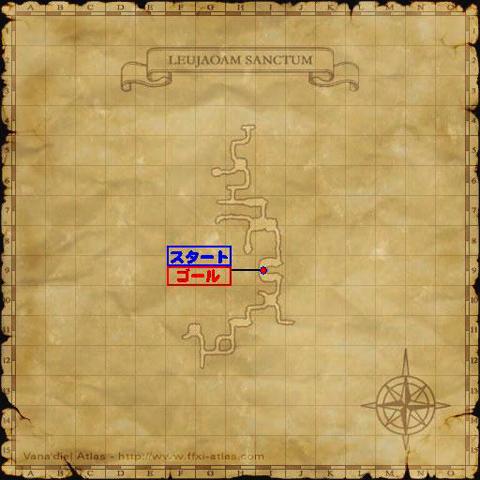 シャナーハ草保護作戦の作戦地図です!敵の配置が分かりません!