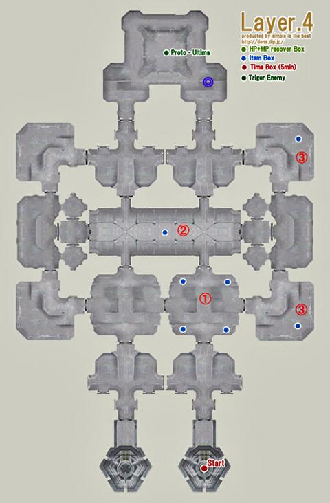 中央塔4階の配置図で、なぜかアルテマが箱を隠してます!