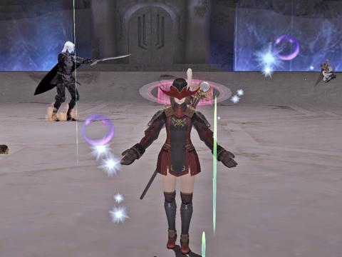 AAエル戦:かっこいいな~盾やら剣やら装備やらください!