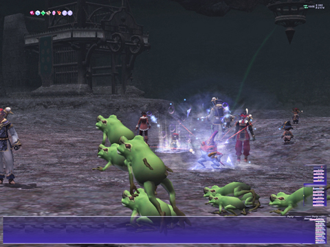 ボス:カエルの歌が♪~、聞こえてくるよ~♪、まて~ごぶ~~っ!