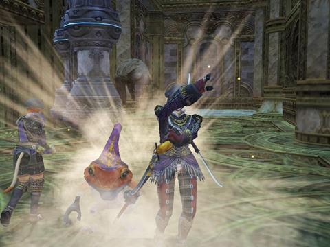 第二回:赤いカエルの帽子は紫!