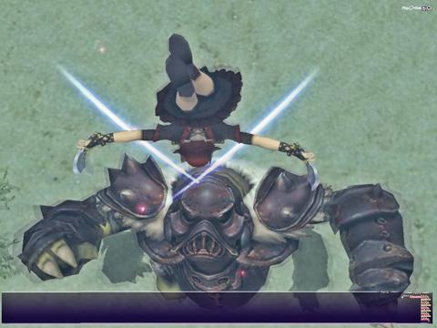 これがほんとの剣の舞!う~ん、このモーション欲しいですね!