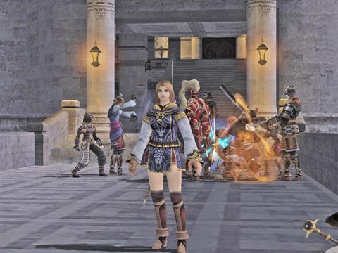 大公宮で、ボスを沸かす石像を倒してしまたところです。