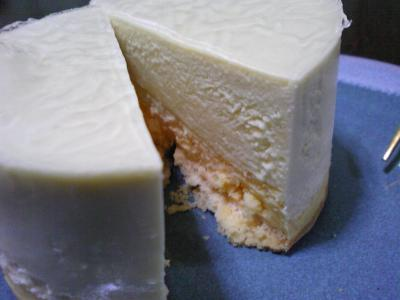 メロンチーズケーキ (2)