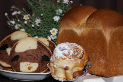 創作パン&山食