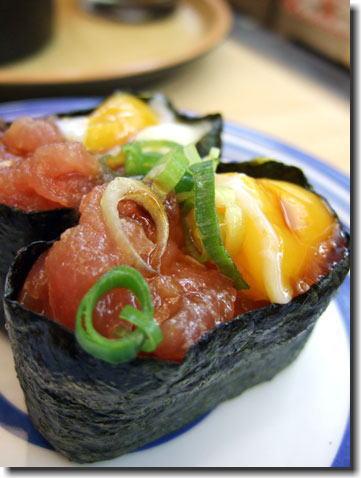 無添くら寿司 海鮮ユッケ風