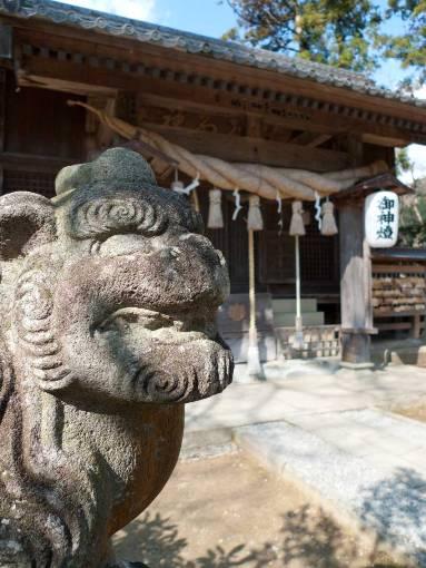 河津来宮神社(杉桙別命神社)狛犬