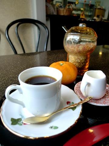 コーヒー デザート